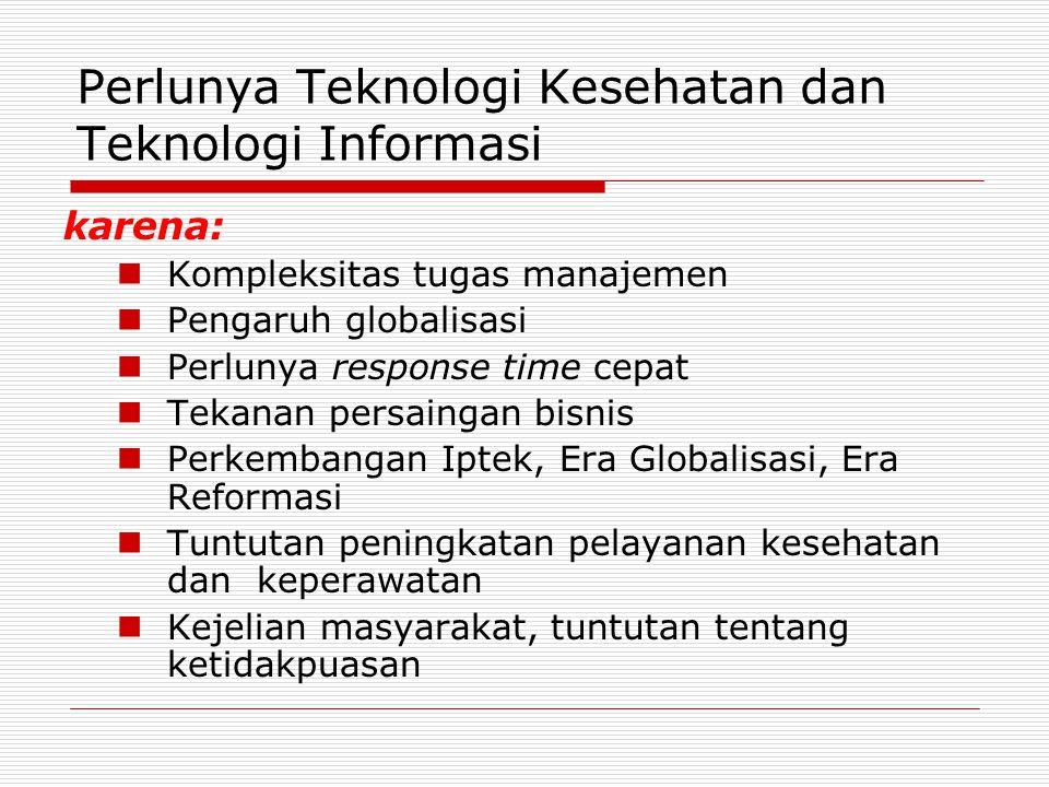 Perlunya Teknologi Kesehatan dan Teknologi Informasi