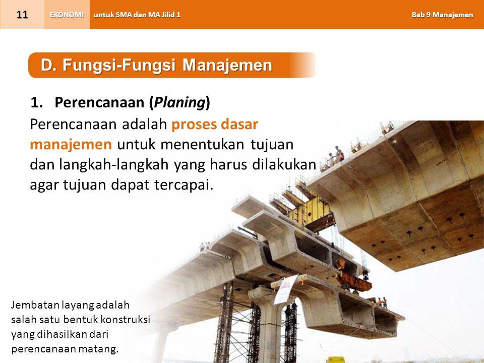 D. Fungsi-Fungsi Manajemen