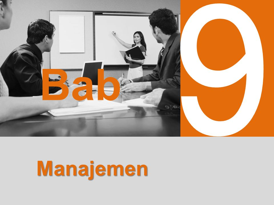 9 Bab Manajemen
