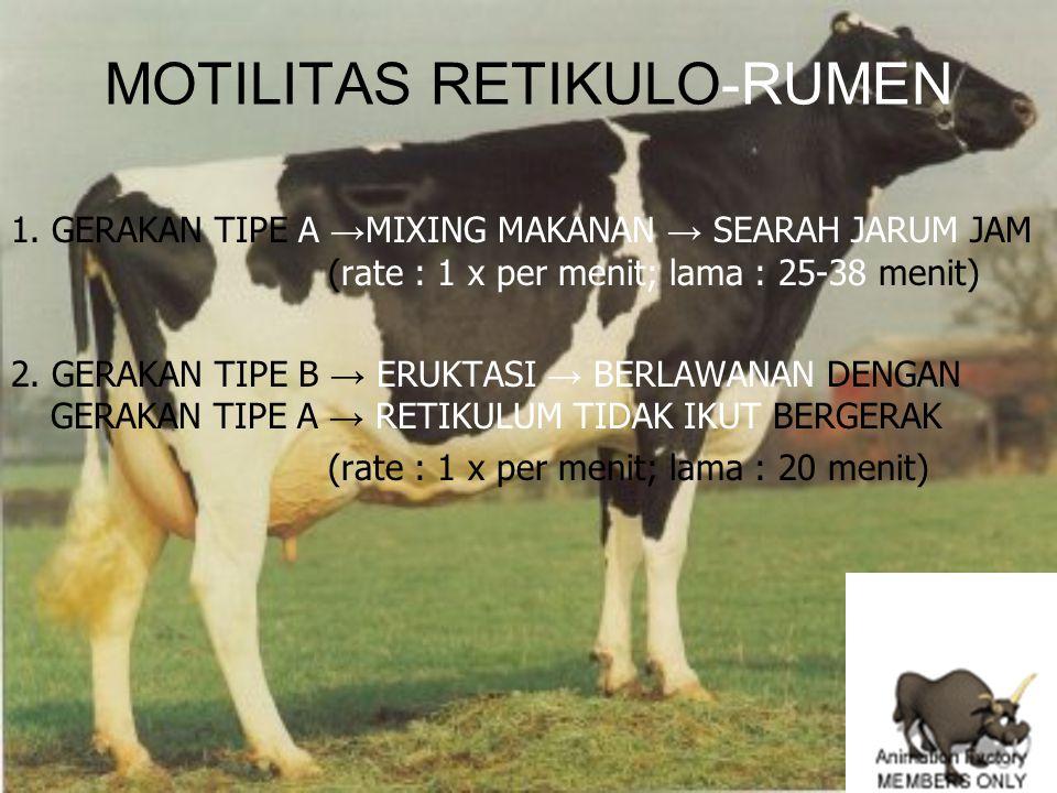 MOTILITAS RETIKULO-RUMEN