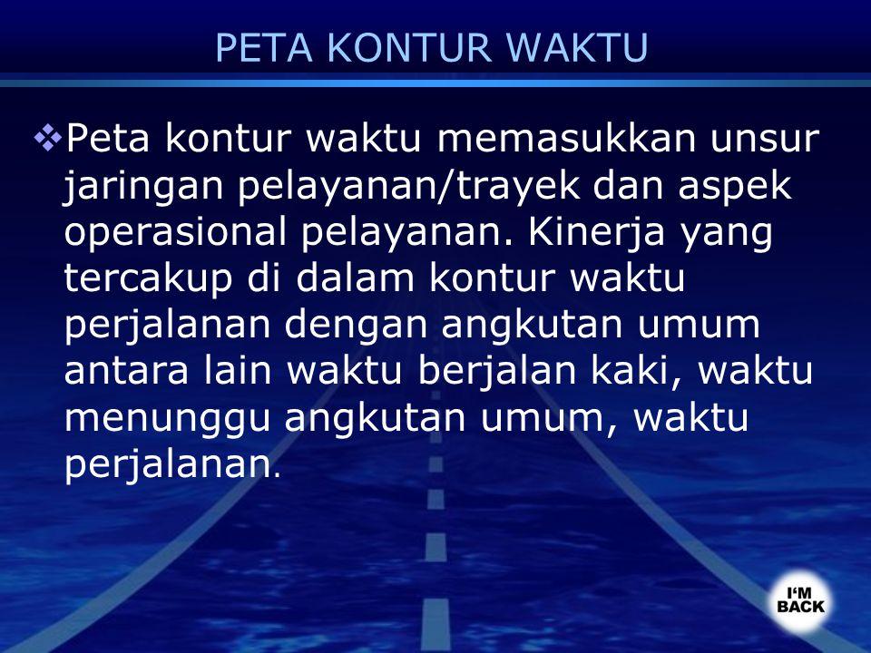 PETA KONTUR WAKTU