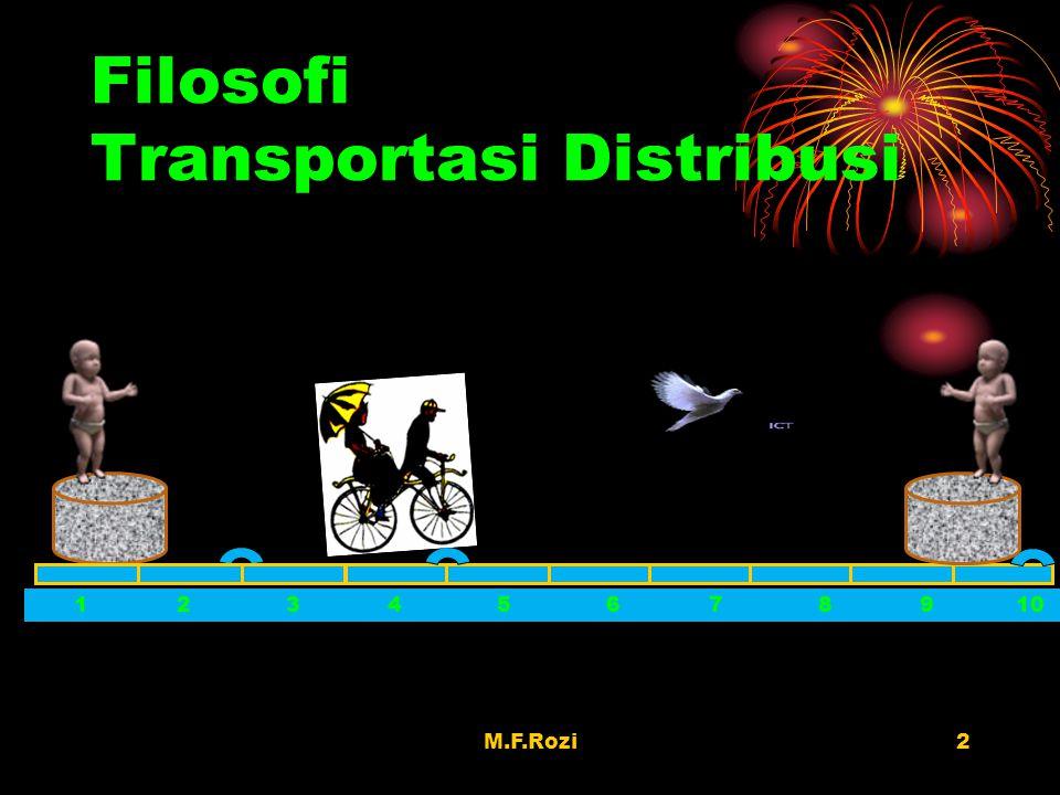 Filosofi Transportasi Distribusi