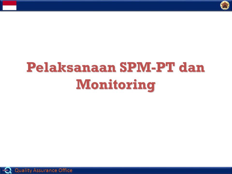 Pelaksanaan SPM-PT dan Monitoring
