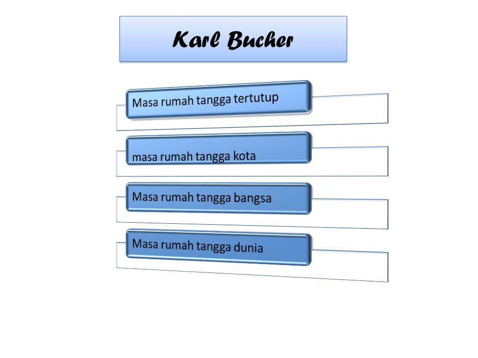 Karl Bucher Masa rumah tangga tertutup masa rumah tangga kota