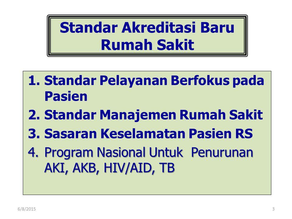 Standar Akreditasi Baru Rumah Sakit