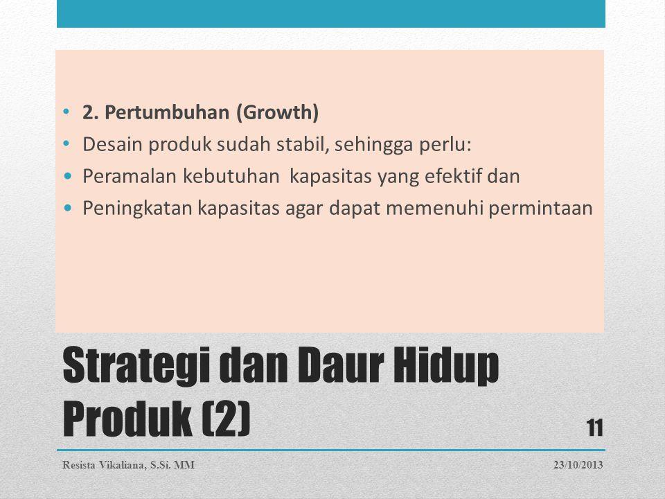 Strategi dan Daur Hidup Produk (2)