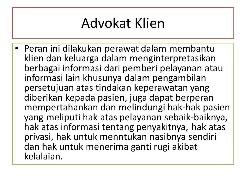 Advokat Klien