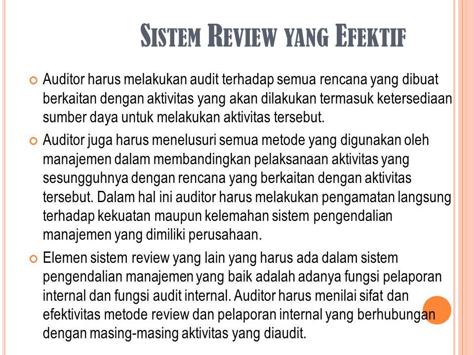 Sistem Review yang Efektif