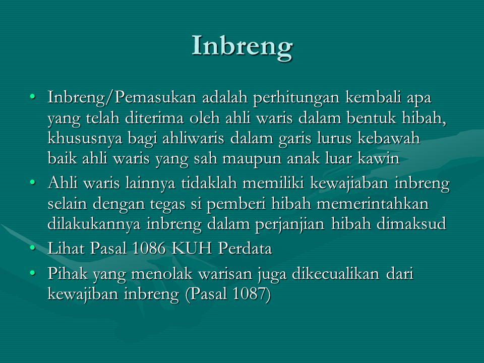 Inbreng