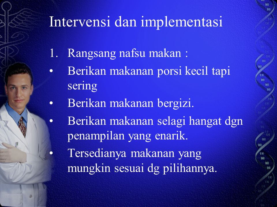 Intervensi dan implementasi
