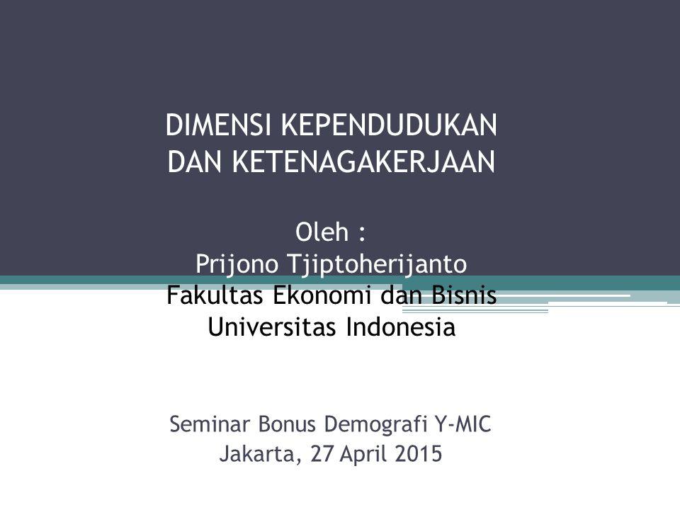 Seminar Bonus Demografi Y-MIC Jakarta, 27 April 2015