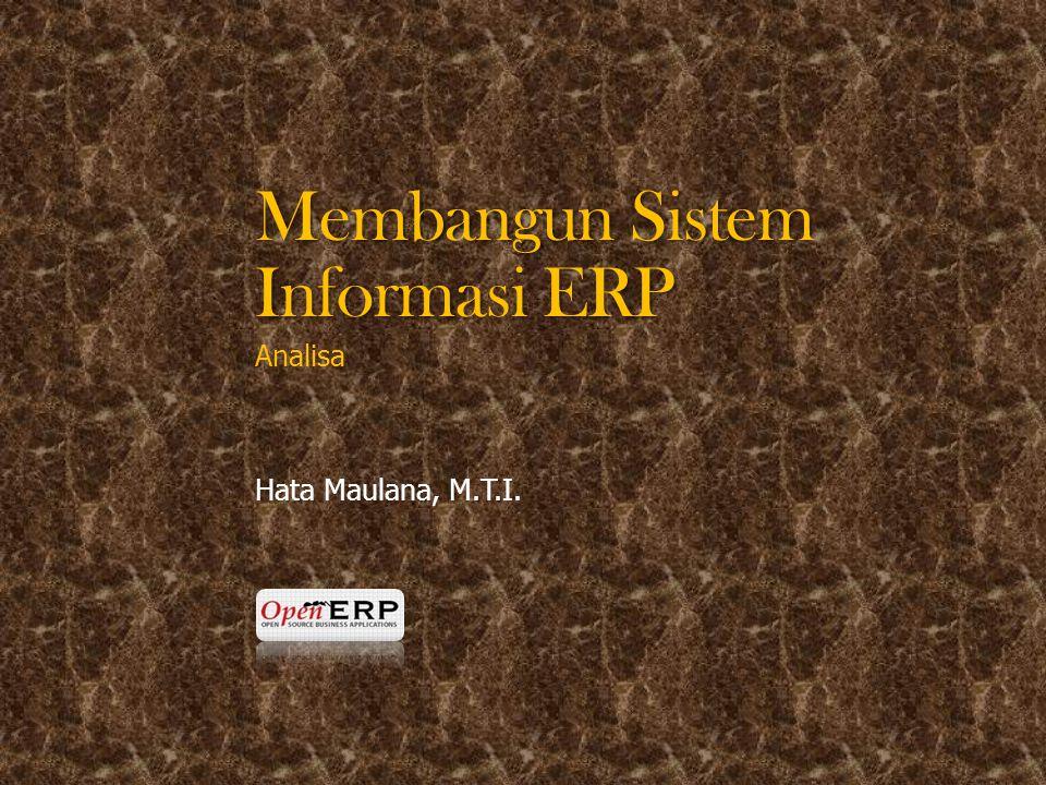 Membangun Sistem Informasi ERP