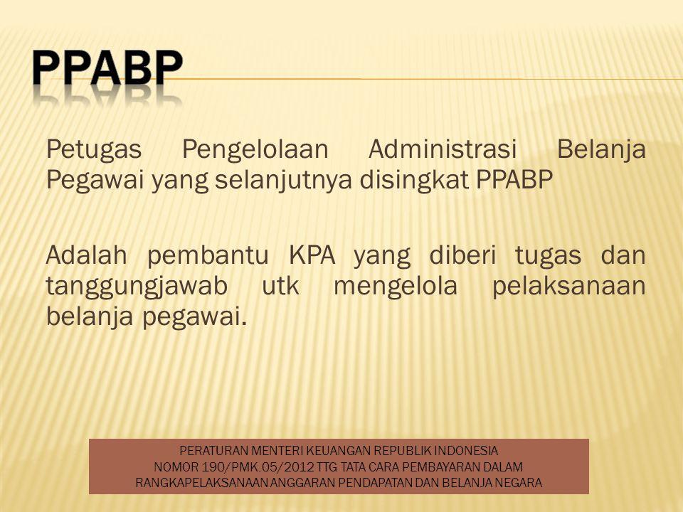 PERATURAN MENTERI KEUANGAN REPUBLIK INDONESIA