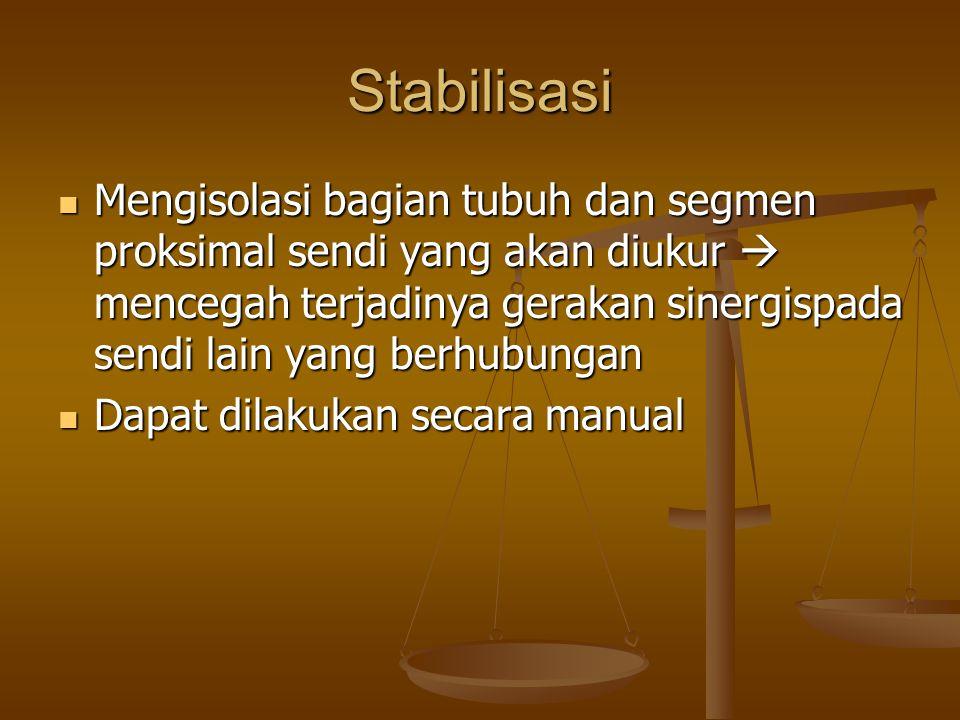 Stabilisasi