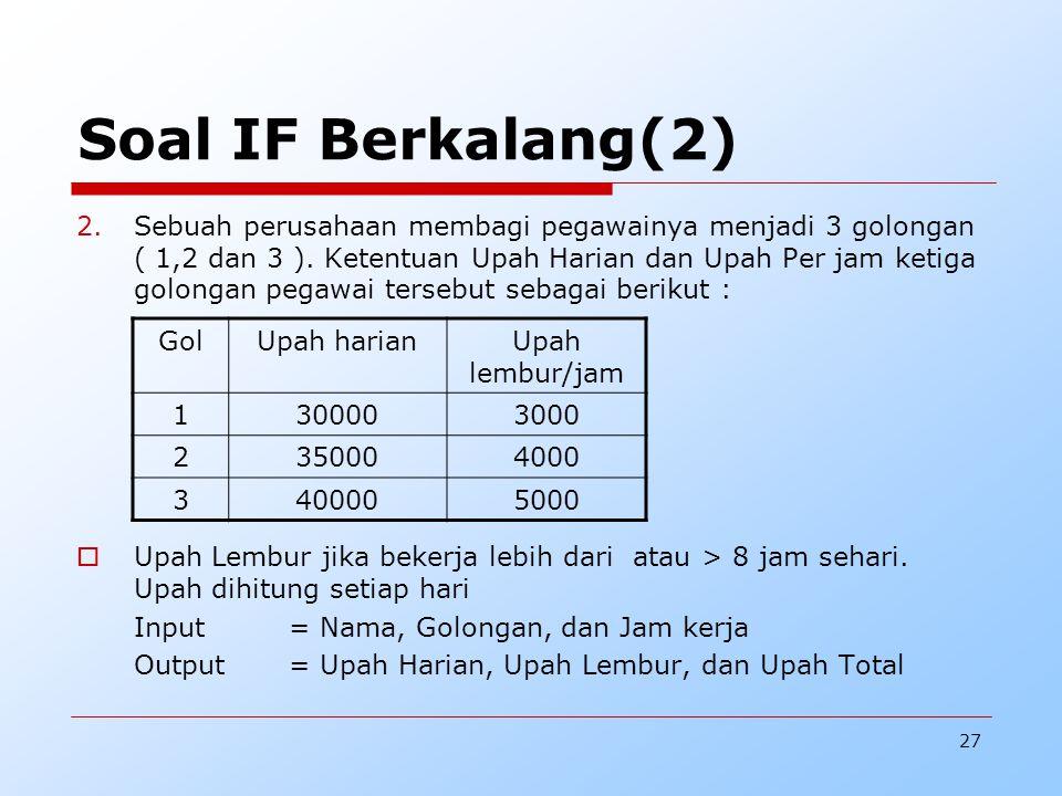 Soal IF Berkalang(2)