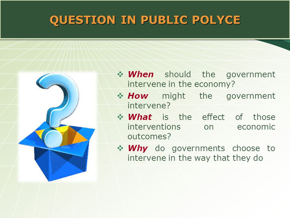 QUESTION IN PUBLIC POLYCE