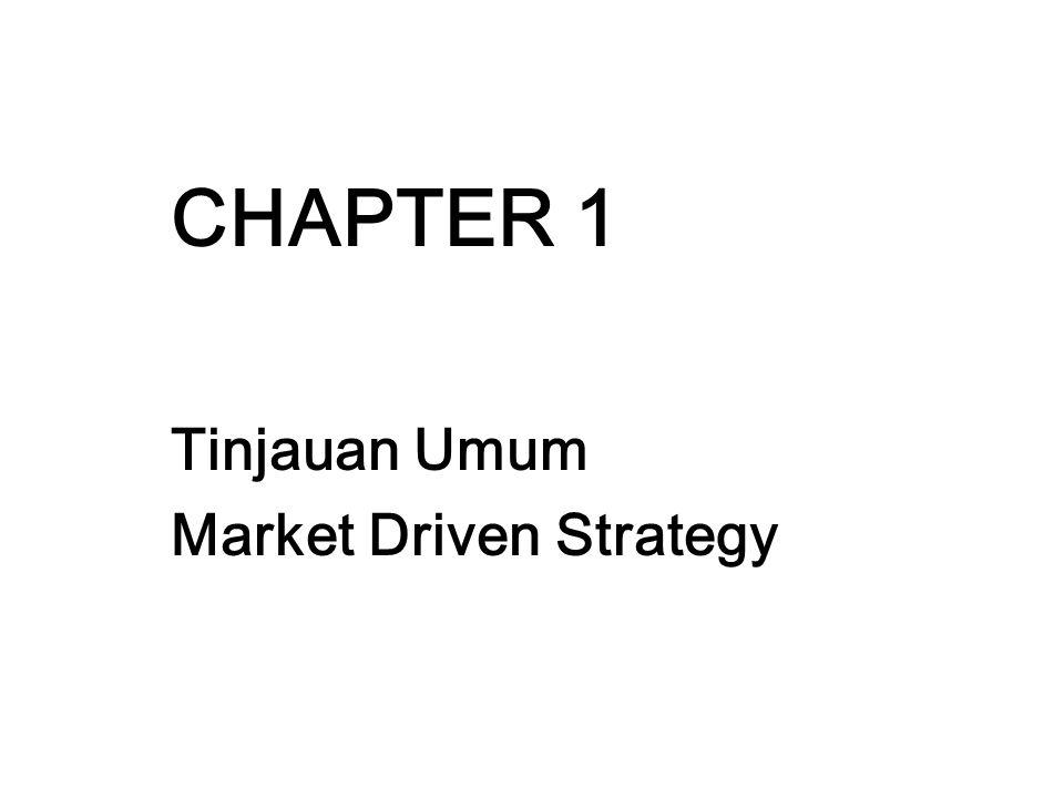 Tinjauan Umum Market Driven Strategy