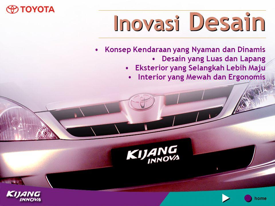 Inovasi Desain Konsep Kendaraan yang Nyaman dan Dinamis