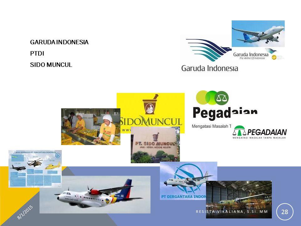 GARUDA INDONESIA PTDI SIDO MUNCUL