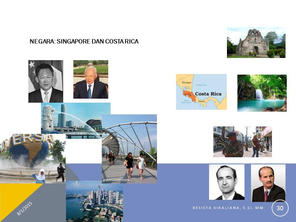 NEGARA: SINGAPORE DAN COSTA RICA