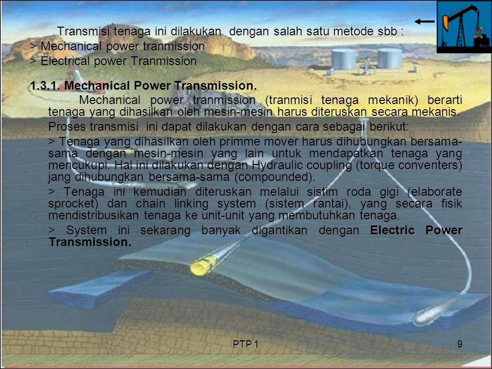 1.3.1. Mechanical Power Transmission.