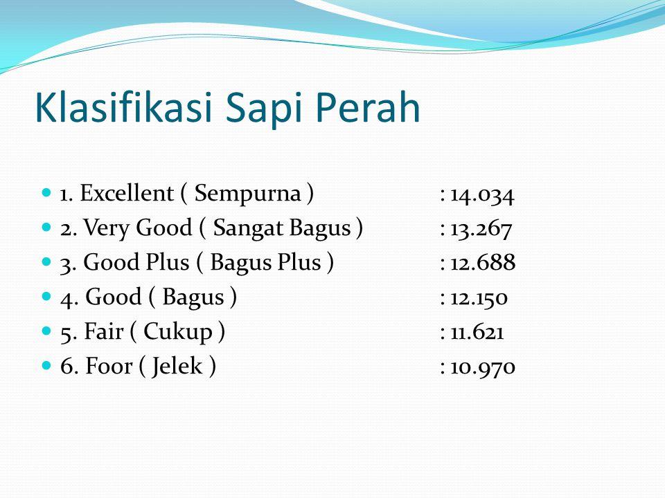 Klasifikasi Sapi Perah