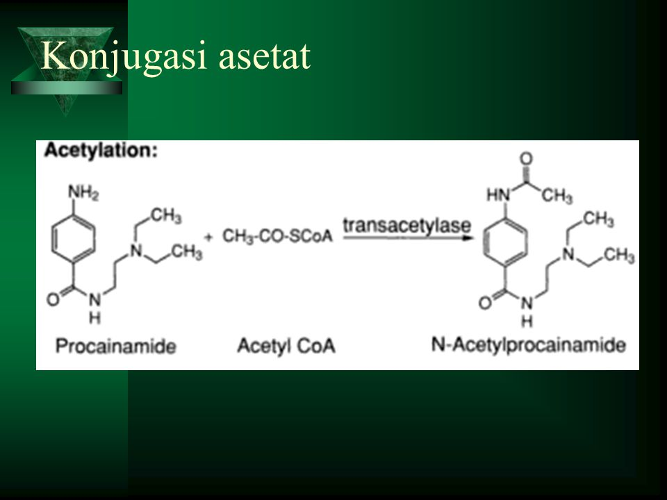 Konjugasi asetat