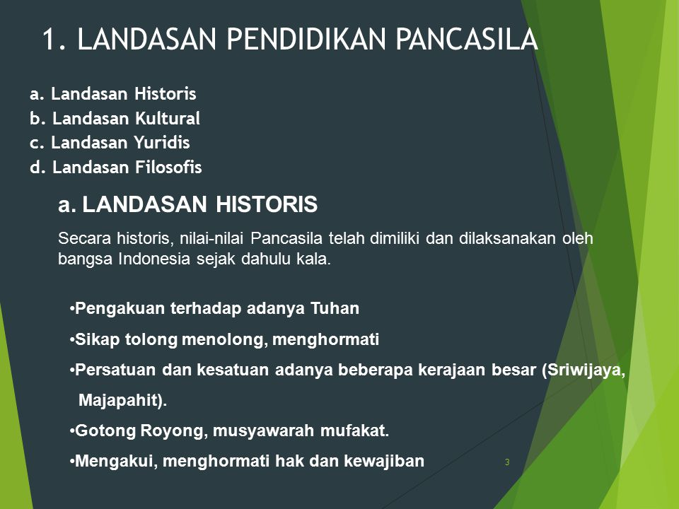 1. LANDASAN PENDIDIKAN PANCASILA