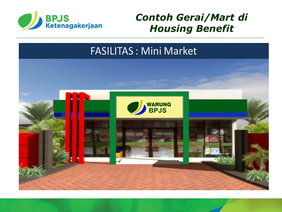 Contoh Gerai/Mart di Housing Benefit