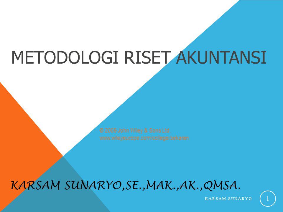 Karsam Sunaryo,SE.,MAk.,Ak.,QMSA.