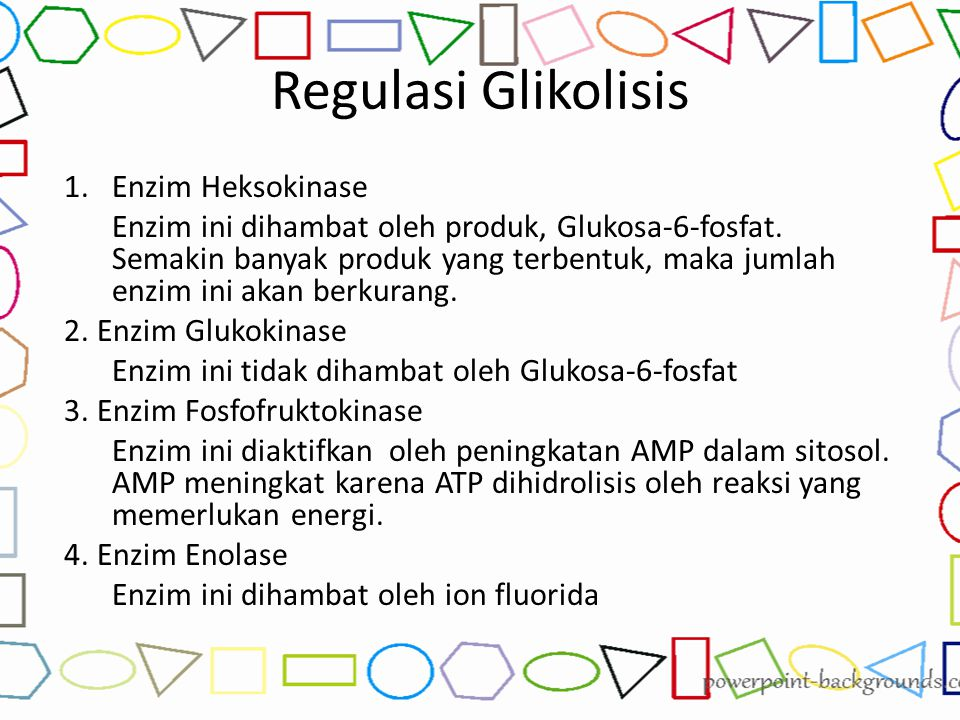 Regulasi Glikolisis Enzim Heksokinase