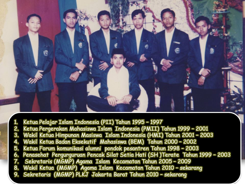 Ketua Pelajar Islam Indonesia (PII) Tahun 1995 – 1997