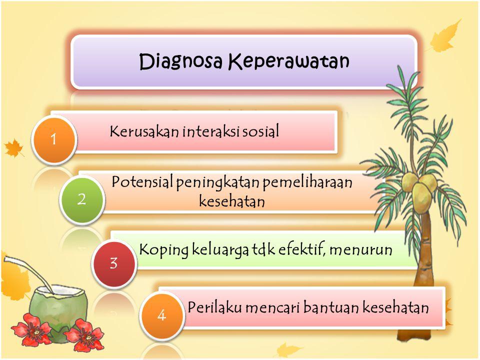 Diagnosa Keperawatan Kerusakan interaksi sosial 1