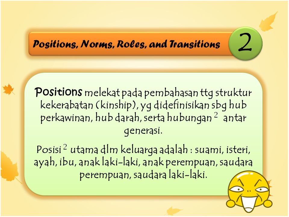 2 Positions, Norms, Roles, and Transitions