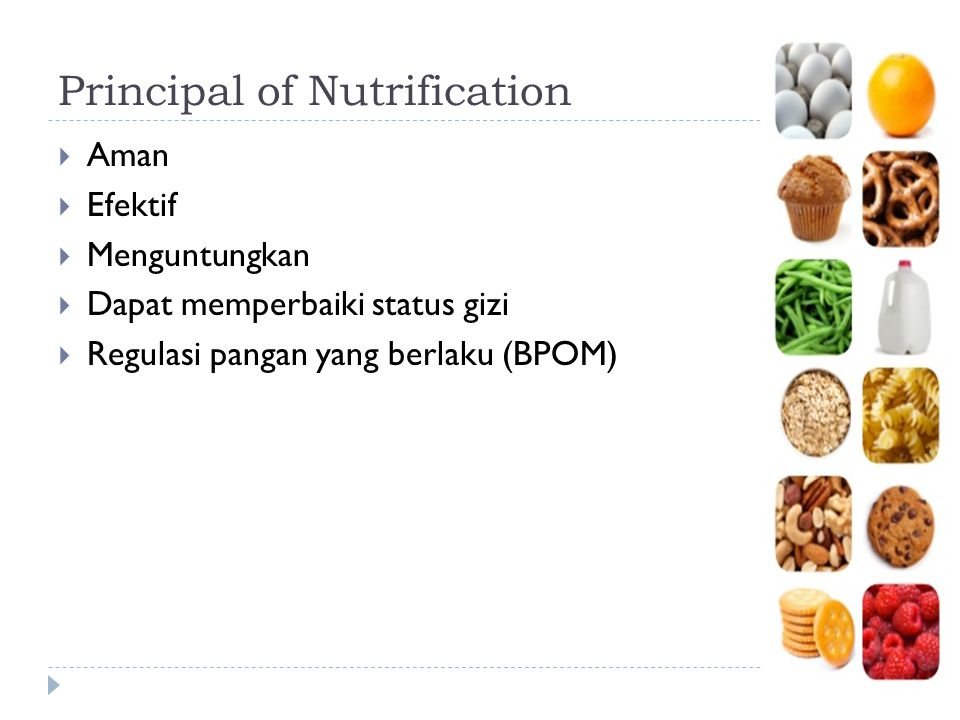 Principal of Nutrification