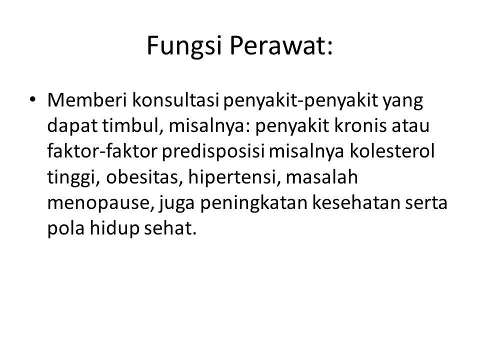 Fungsi Perawat: