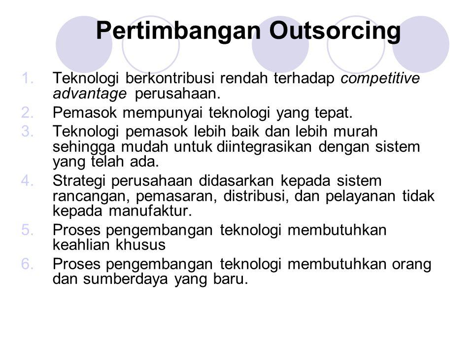 Pertimbangan Outsorcing