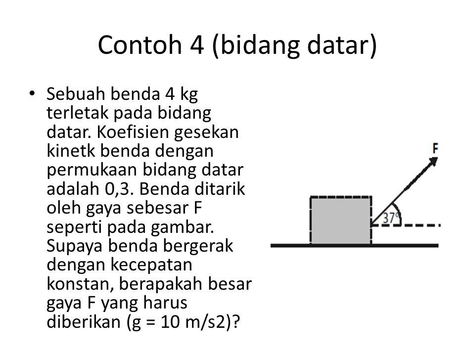 Contoh 4 (bidang datar)