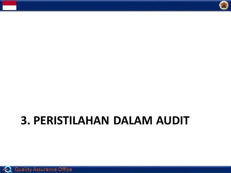 3. Peristilahan dalam Audit