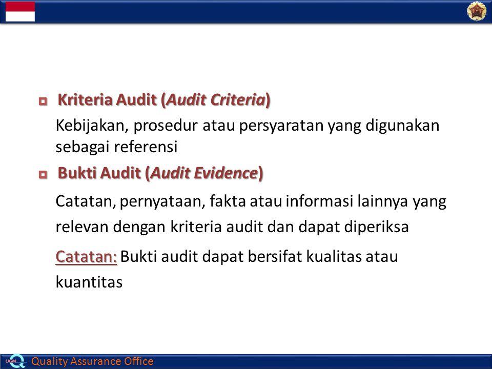 Kriteria Audit (Audit Criteria)