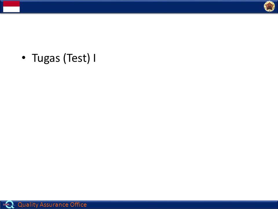Tugas (Test) I