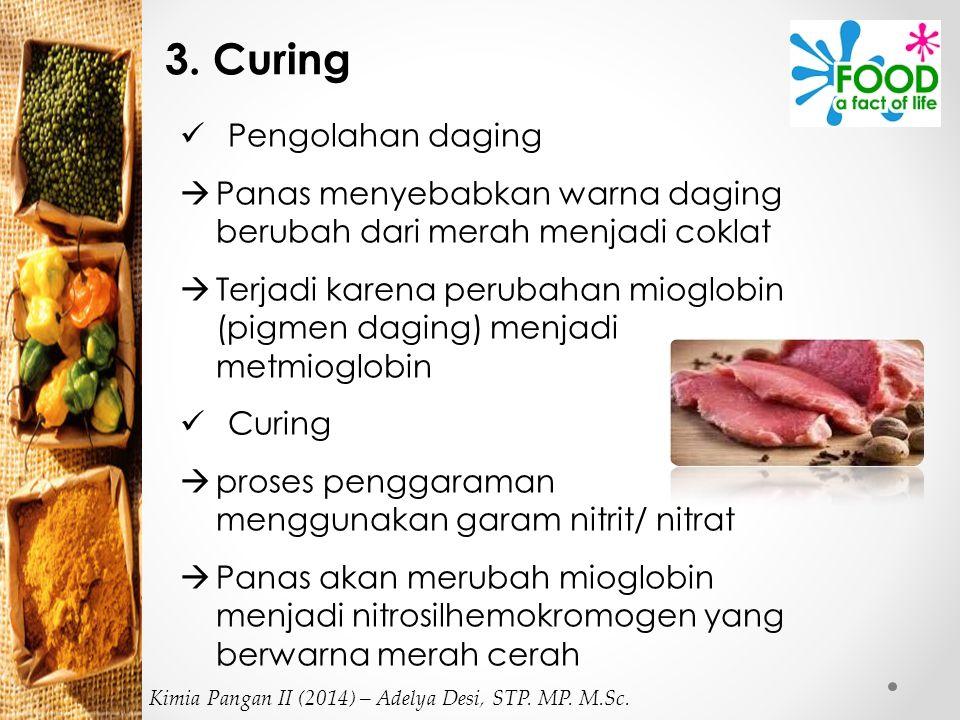 3. Curing Pengolahan daging