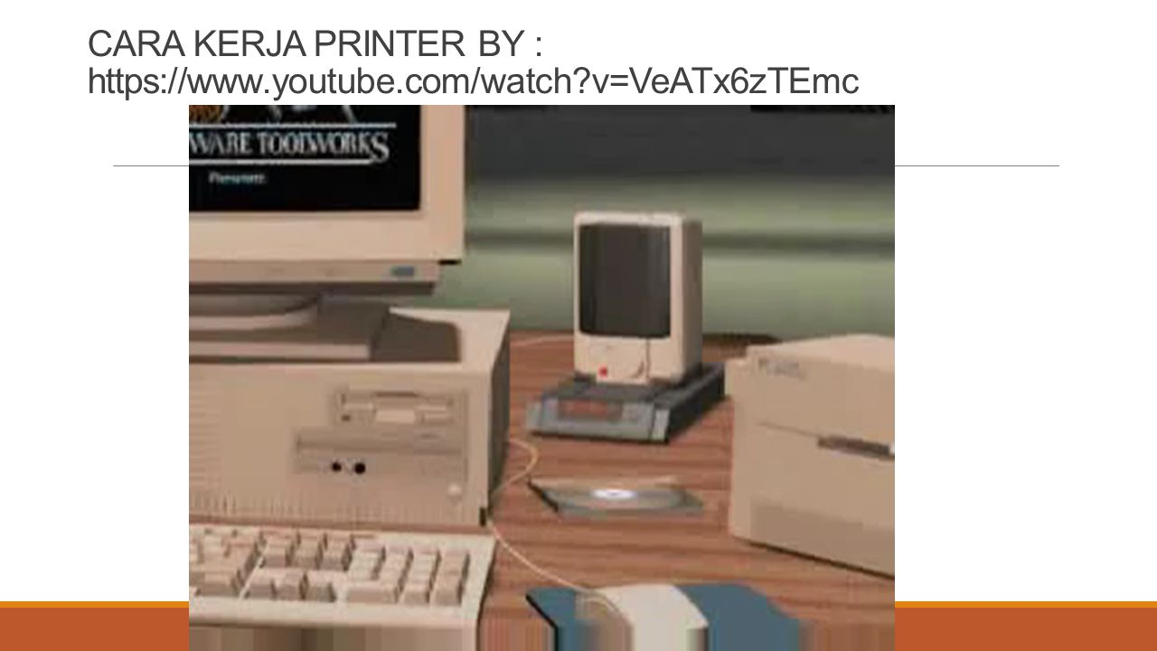 CARA KERJA PRINTER BY : https://www.youtube.com/watch v=VeATx6zTEmc