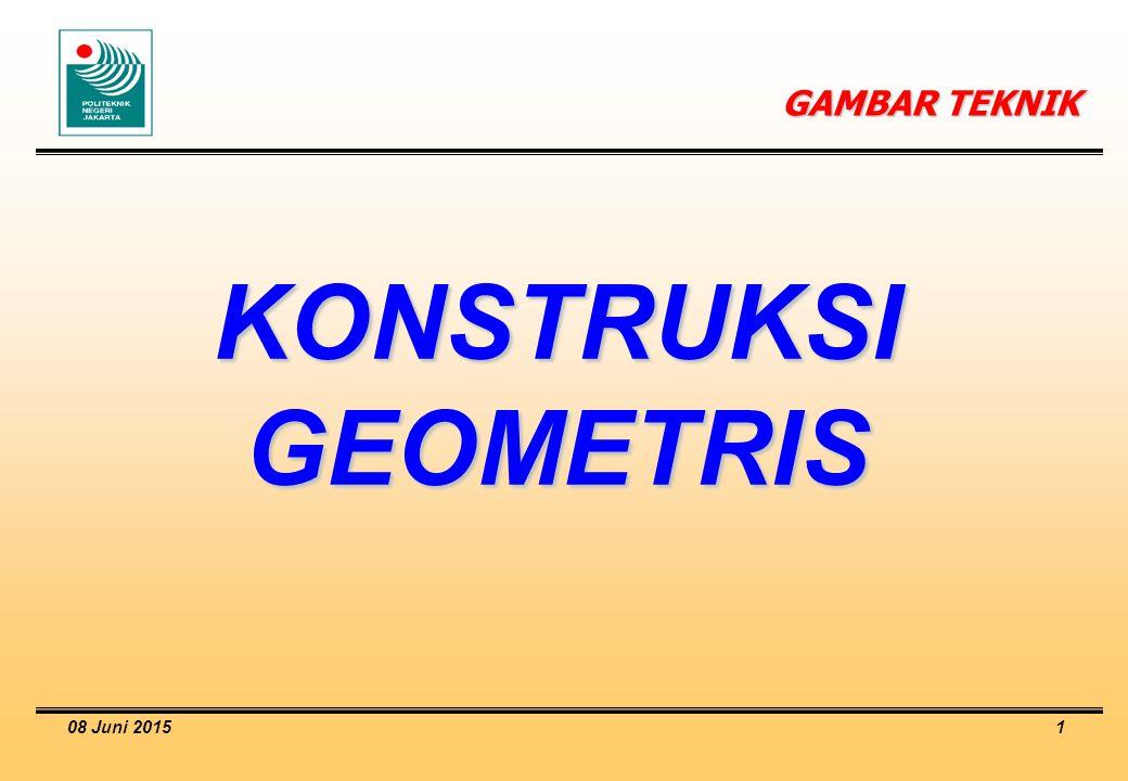 GAMBAR TEKNIK KONSTRUKSI GEOMETRIS 16 April 2017
