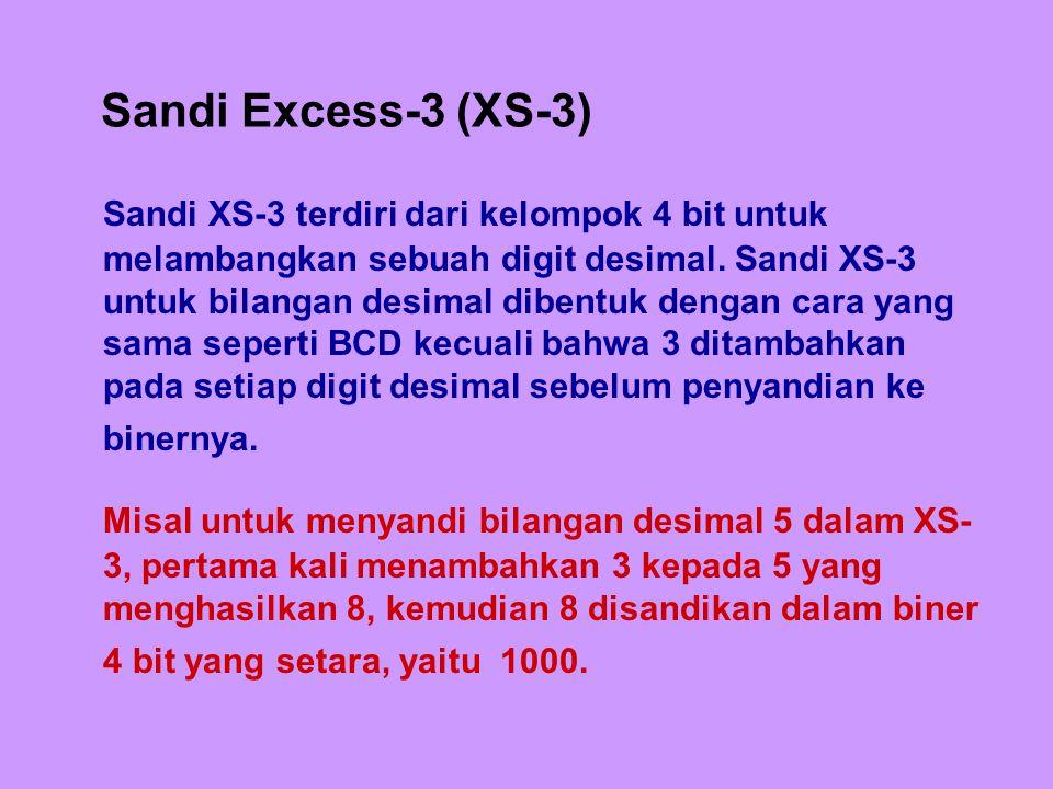 Sandi Excess-3 (XS-3)