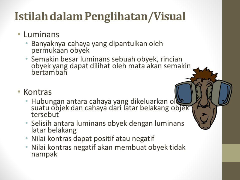 Istilah dalam Penglihatan/Visual