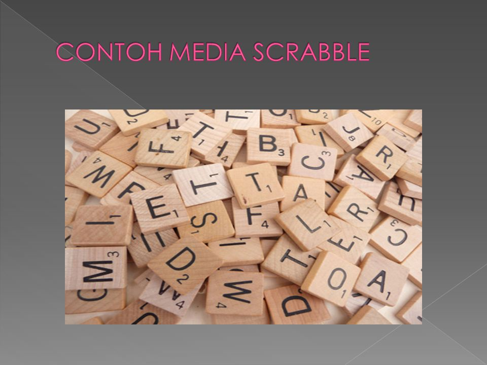 CONTOH MEDIA SCRABBLE