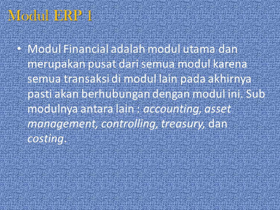 Modul ERP 1
