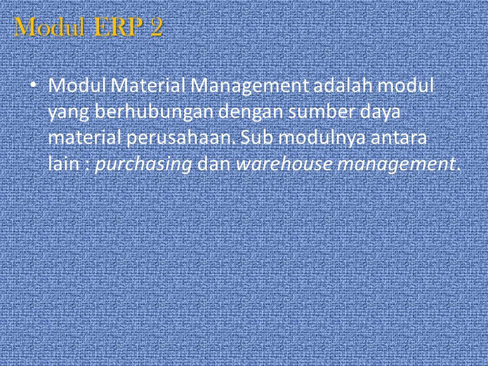 Modul ERP 2
