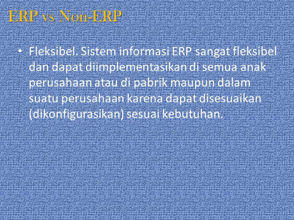 ERP vs Non-ERP